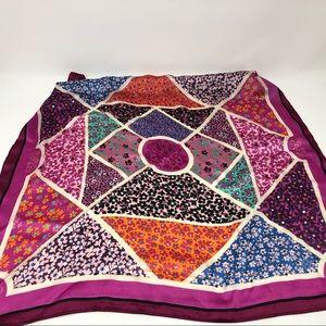 Vera Bradley Scarf Handkerchief Square Floral
